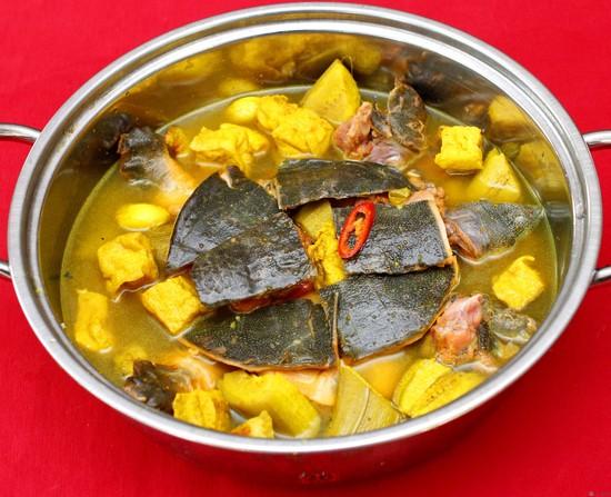 Món Baba nấu chuối