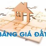 Bảng giá đất huyện Hóc Môn (mới cập nhật)