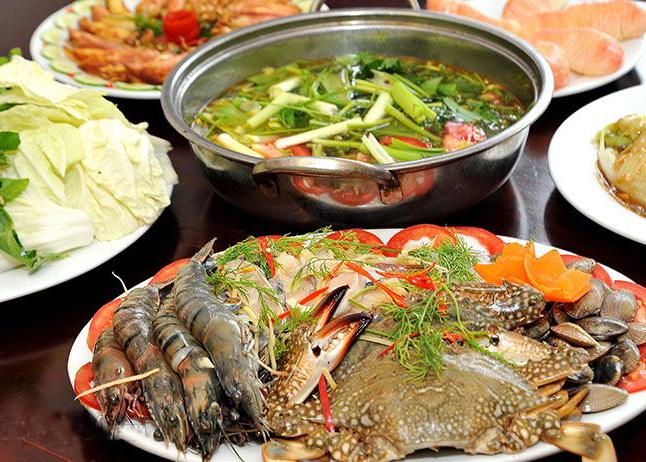 Món lẩu hải sản