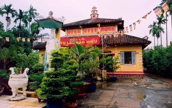 Chùa Giác Hoàng - ngôi chùa cổ của thành phố
