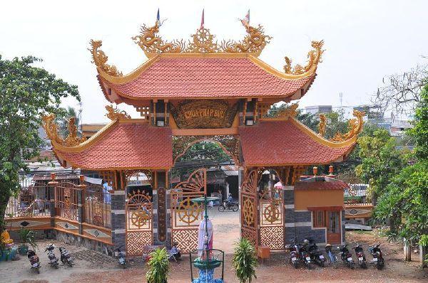Chùa Pháp Bửu - ngôi chùa lớn nhất tại huyện Hóc Môn