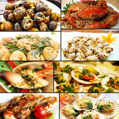 Quán Hải Sản Đường Phố - quán hải sản ngon ở Hóc Môn