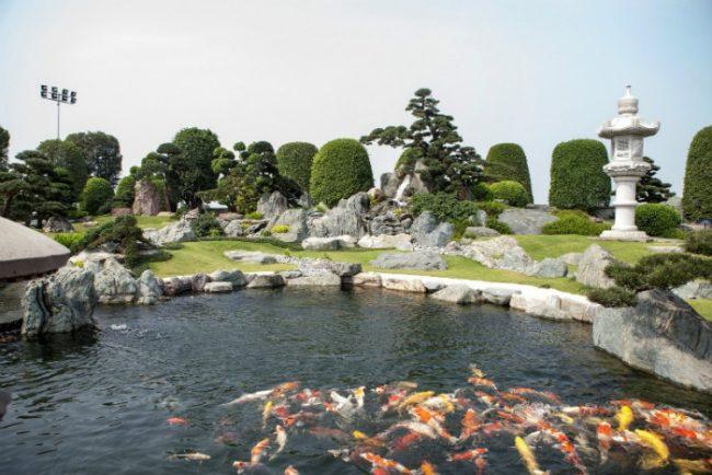 Không gian mang đậm nét văn hóa Nhật Bản