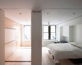 Giường âm tường lựa chọn tối ưu cho nhà nhỏ