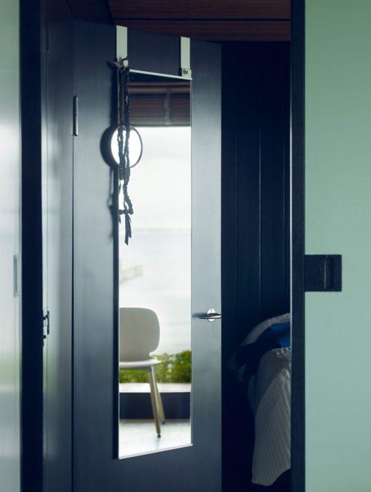 Gương trên Vách ngăn hoặc cửa gấp