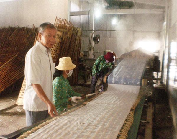 Làng nghề hủ tiếu Tân Hiệp huyện Hóc Môn