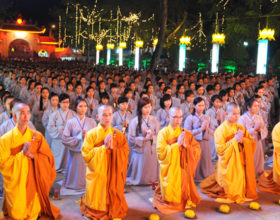 Lễ hội hoa đăng lớn nhất tổ chức tại Hóc Môn