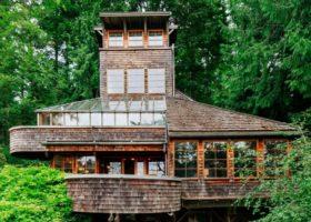 Ngôi nhà xinh xắn giữa rừng xanh