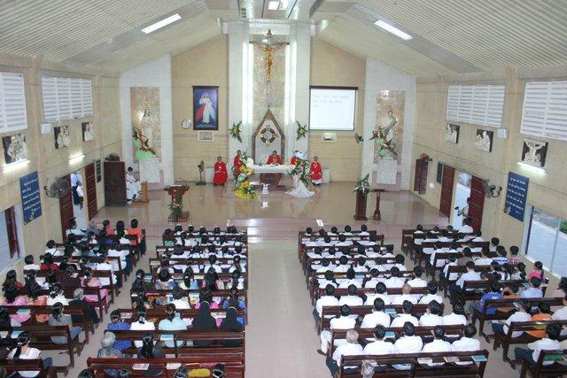 Giờ thánh lễ của giáo xứ