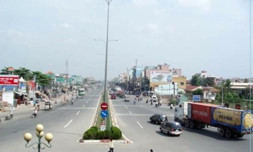 Quốc lộ 22 đi qua địa bàn TP.HCM và tỉnh Tây Ninh có chiều dài hơn 58km