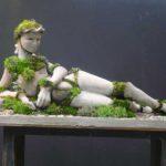 Tác phẩm điêu khắc trong vườn nhà