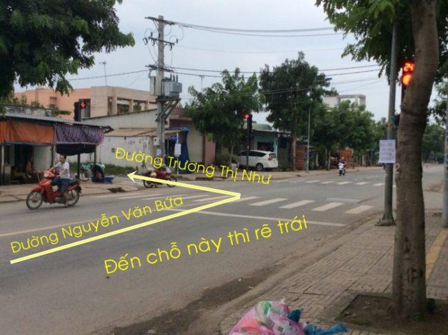 Đây là ngã 4 Của đường Nguyễn Văn Bứa và đường Trương Thị Như