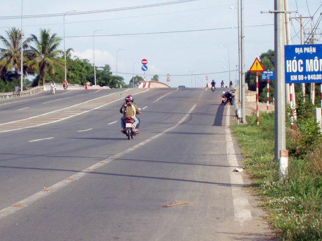 Hóc Môn nối liền các tuyến đường quan trọng