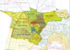 Quy hoạch sử dụng đất Hóc Môn đến năm 2020