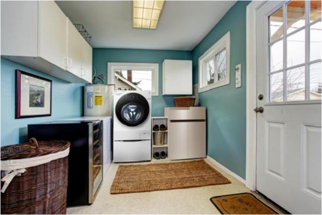 Thiết kế nơi giặt ủi tiện nghi đẹp mắt cho ngôi nhà