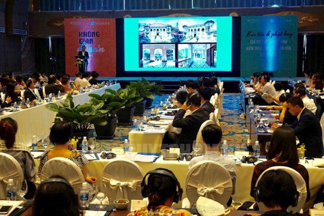 Hội thảo Bảo tồn và phát huy giá trị các công trình kiến trúc tại TPHCM