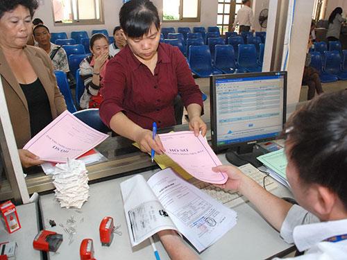 Giải quyết cấp giấy chứng nhận nhà đất