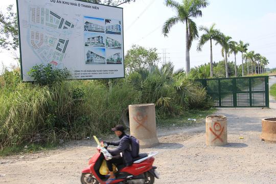 Dự án khu nhà ở Thanh Niên ở xã Phước Lộc triển khai 17 năm vẫn chưa hoàn thành