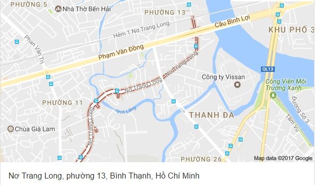 Dự án phường 13, Bình Thạnh