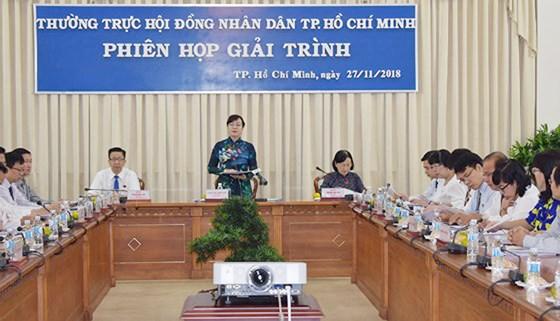 Chủ tịch HĐND TPHCM Nguyễn Thị Quyết Tâm đề nghị cần đổi mới tư duy trong công tác quy hoạch nhằm đảm bảo mục tiêu phát triển thành phố và nâng cao chất lượng sống của người dân