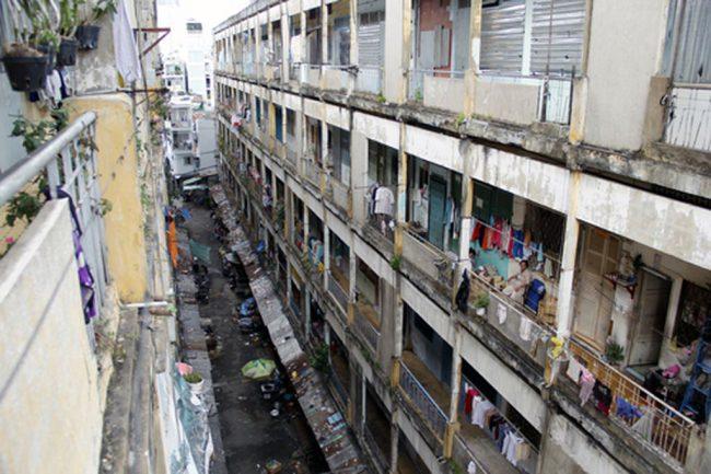 Thay thế các chung cư xây dựng trước năm 1975