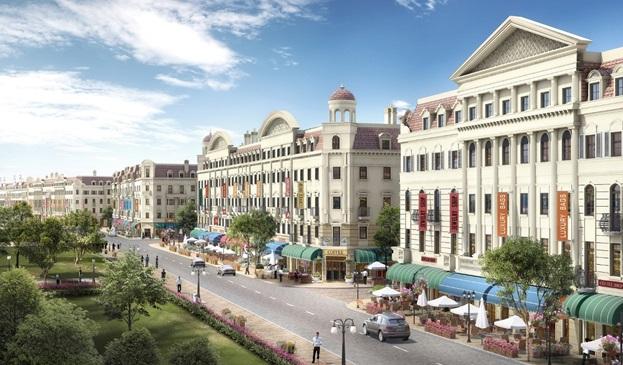 Giá nhà phố tại nhiều dự án khu đô thị