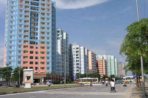 Giá nhà ở TP HCM tăng Hà Nội giảm nhẹ