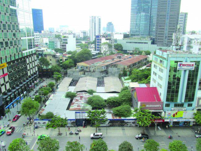 Quỹ đất tại TP.HCM ngày càng cạn đất sạch nội đô