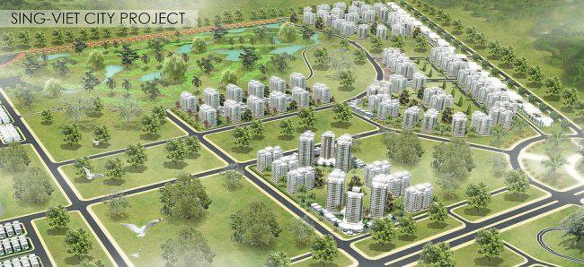 Dự án Khu đô thị Sing – Việt tại huyện Bình Chánh