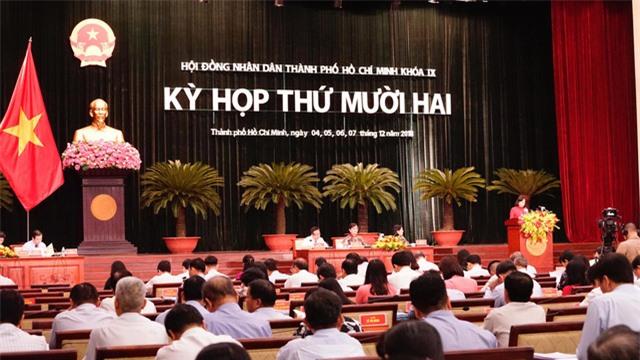 Kỳ họp thứ 12 của HĐND TP khóa IX
