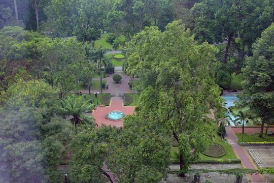 Dự án xây dựng bãi xe ngầm Trống Đồng ở Công viên Tao Đàn