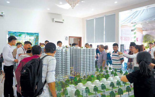 Thị trường nhà ở có nhiều dự án mở bán