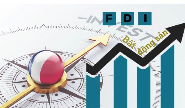 Nguồn vốn FDI đổ vào bất động sản