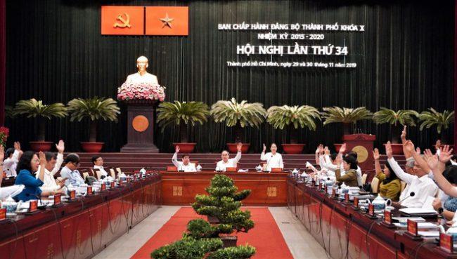 Hội nghị về sự phát triển trong tương lai của 5 huyện TP.HCM