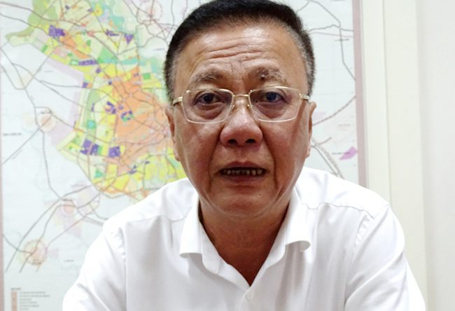 Ông Nguyễn Thanh Toàn - Phó giám đốc Sở Quy hoạch Kiến trúc TP HCM