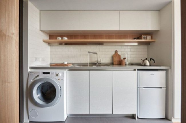 Vị trí đặt máy giặt giúpgia chủ luôn bình an