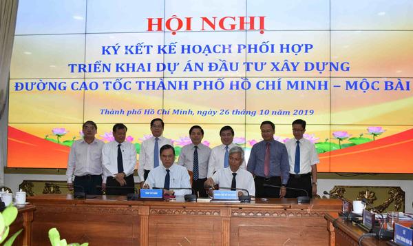 Lễ ký kết triển khai dự án đầu tư xây dựng đường cao tốc TP.HCM - Mộc Bài