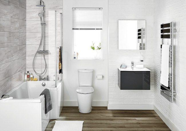 Phòng tắm sạch và thơm nhờ những mẹo đơn giản