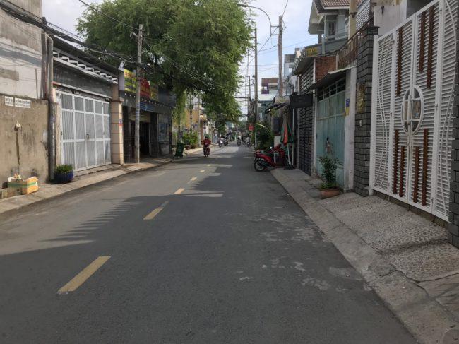 Nhà bán: 54 đường An Hội, phường 13, Quận Gò Vấp.